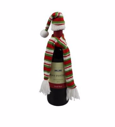 Picture of Santas hat and scarf