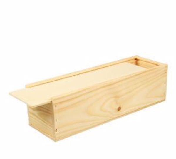 Слика на Wooden box for 1 bottle